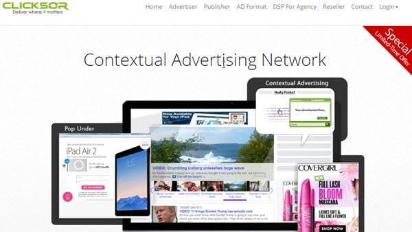 Clicksor PPC Ad Networks