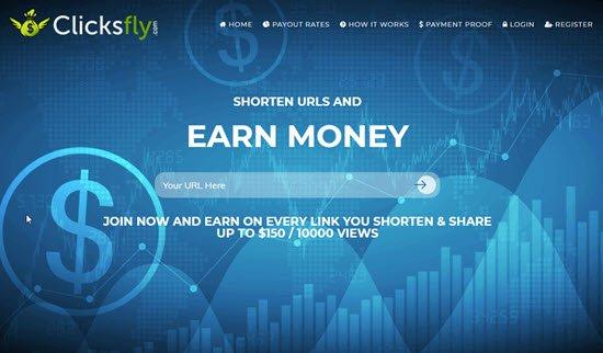 ClicksFly Best URL Shortener