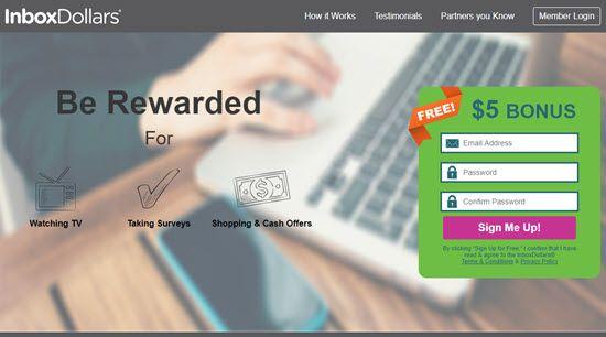 InboxDollar PTC Sites